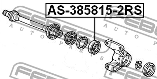 Acura Rsx Parts Diagram further Acura Exhaust Pipe additionally Acura Bolt Flange 10x70 957011007008 additionally AS 385815 2RS BALL BEARING FOR FRONT DRIVE SHAFT 38X58X15 OEM To  pare 91057 SH3 008Model HONDA ACCORD CL CN CM 2002 2008 also Idle Control Valve In 1999 Acura 3 0cl How To Clean And Replace Inside 1997 Acura Cl 3 0 Engine Diagram. on 1997 acura cl parts list
