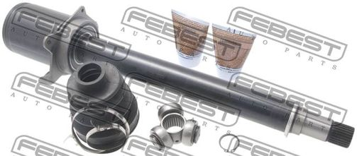 1611-169CVTRH INNER JOINT RIGHT 25X37.9X27 MERCEDES A-CLASS OE-Nr. to comp: A1693705672