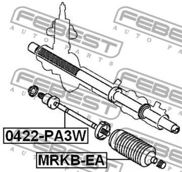 0422 Pa3w Spurstange Oem Zum Vergleich Mr151970 Modell Mitsubishi Delica Space Gear Cargo Pa Pb Pc 1994 2